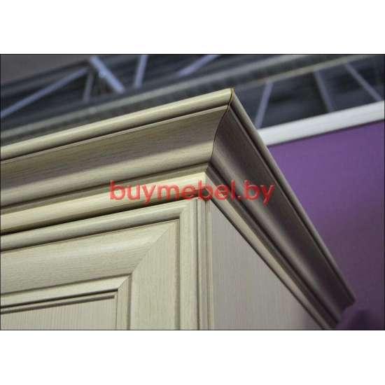 Шкаф белый 4х дверный Тиффани 4D2S Z с зеркалом