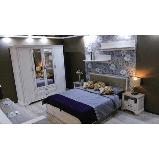 Монако спальня, кровать с мягким изголовьем