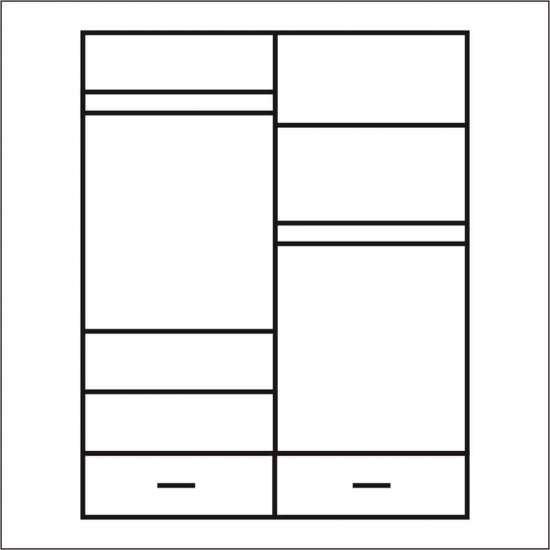 Шкаф четырехстворчатый Прованс 4DG2SZ