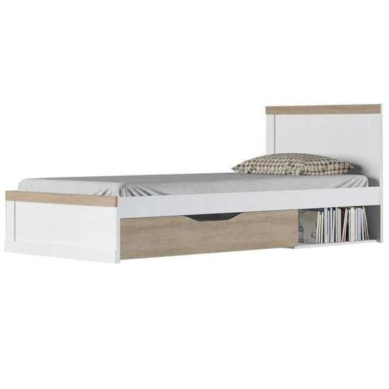 Прованс кровать 90 односпальная с ящиком