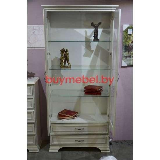 Тиффани шкаф с витриной 2V2S