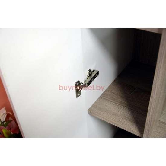 Шкаф витрина Линате 3D/ TYP 01P белая