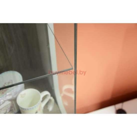 Шкаф витрина Линате 3D/ TYP 01L белая
