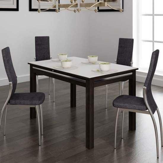 Обеденная группа: стол Самба и стулья Милано