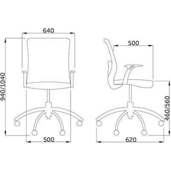 Кресло компьютерное Шарк