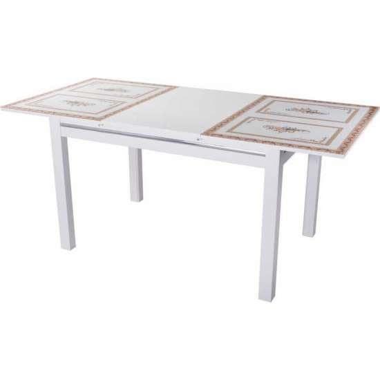 Стол обеденный Вальс белый СТ-71