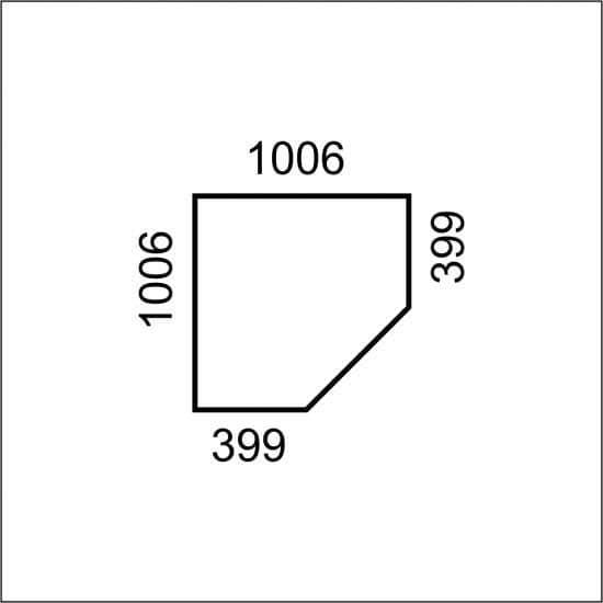 Шкаф угловой двухдверный Магеллан 2D для спальни прихожей
